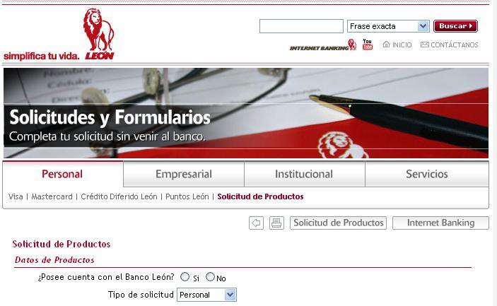 Formulario-Banco-Leon