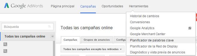 Herramienta-palabras-claves-Google-Adwords-Paso-1