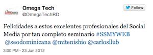 Testimonio-Omega-Tech-Seminario-marketing-Online-PUCMM-Santo-Domingo-Dominicana-jun-12