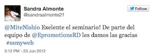 Testimonio-Seminario-marketing-Online-PUCMM-Santo-Domingo-Dominicana-jun-12-Sandra-Almonte