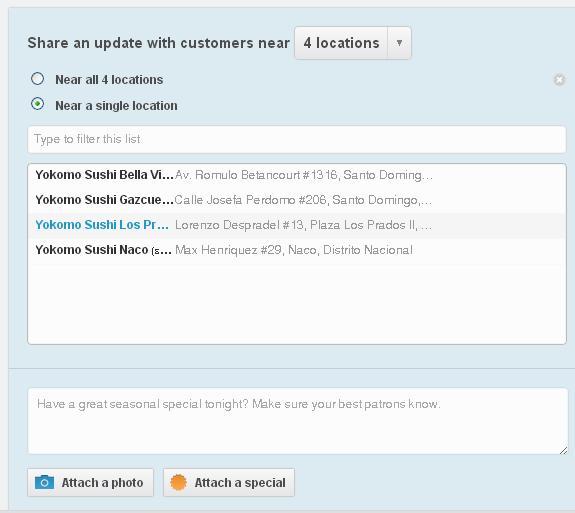 Escribir-Publicacion-Foursquare-Web