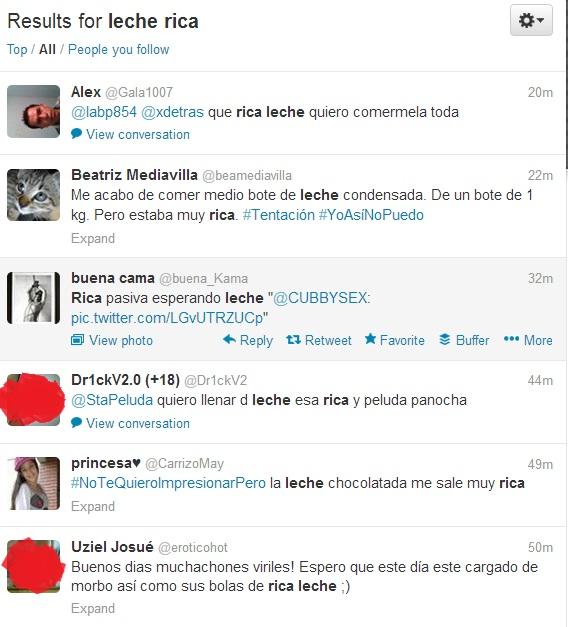 Busquedas-Twitter-Leche-Rica