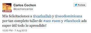 Testimonio-Carlos-Cochon2-Taller-Publicidad-Online-Santo-Domingo-2012