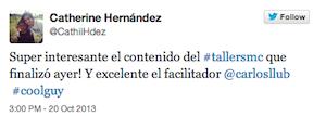 Testimonio-Cath-Martinez-Taller-Social-Media-Contenidos-CAPEX-Santiago-Caballeros-Dominicana-oct-13