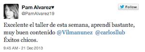 Testimonio-Pam-Alvarez-Taller-Social-Media-Content-Manager-dic-2013