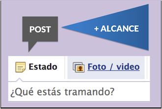 Consigue mayor alcance en Facebook, con publicaciones de texto