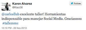 Testimonio-Karen-Alvarez-Taller-Social-Media-Contenidos-Santo-Domingo-Dominicana-nov-13