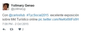 Testimonio-14vo-Taller-Publicidad-Online-Turismo-Santo-Domingo-oct-2015-Yollmary-Genao