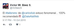 Testimonio-14vo-Taller-Redes-Sociales-Santo-Domingo-oct-2015-Victor-Baez