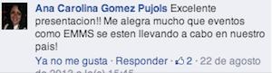 Testimonio-Charla-Analitica-Web-Social-EMMS-Dominicana-ago-2013-Ana-Carolina-Gomez