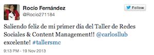 Testimonio-Rocio-Fernandez2-Taller-Social-Media-Contenidos-Santo-Domingo-Dominicana-nov-13