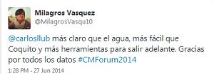 Testimonio-Community-Management-Forum-2014-Lima-Peru-Charla-Analitica-Redes-Sociales-Milagros-Vasquez