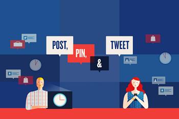 ¿A qué hora es mejor publicar en redes sociales? Facebook, Twitter y otras [Infografía]