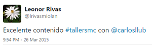 Testimonio-10mo-Taller-Redes-Sociales-Santo-Domingo-mar-2015-Leonor-Rivas