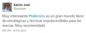 Testimonio-7mo-Taller-Redes-Sociales-Santo-Domingo-oct-2014-Kelvin-Joel