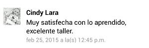 Testimonio-9no-Taller-Redes-Sociales-Santo-Domingo-feb-2015-Cindy-Lara