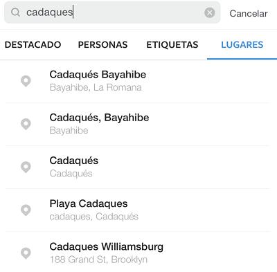 Buscar-Escoger-Por-Ubicacion-Instagram-Aplicación-App-Movil-Nativa
