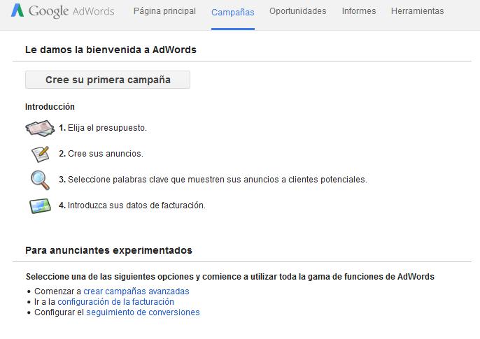 Bienvenida-Cuenta-Google-Adwords-SEM-