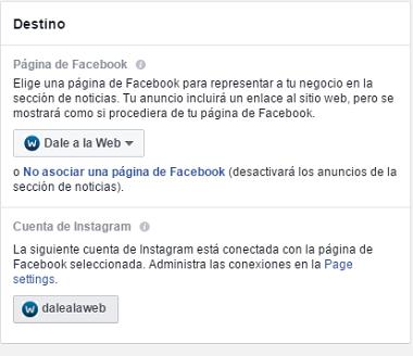 Crear-Anuncios-Instagram-Escoger-Pagina-Fans-Facebook-Ad-Power-Editor-Paso-12-2017