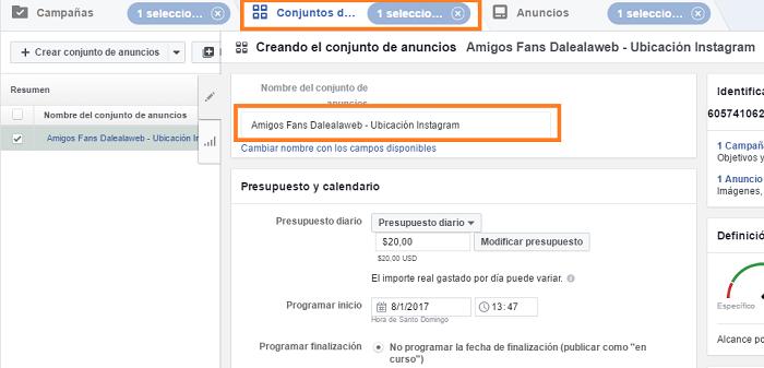 Crear-Conjunto-Anuncios-Instagram-Nombrar-Conjunto-Facebook-Ad-Power-Editor-Paso-6-2017