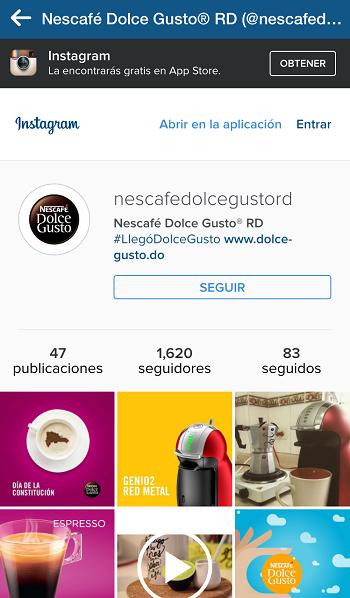 Campana-Publicidad-Digital-Anuncio-Instagram-Nescafé-DolceGustoRd-Después