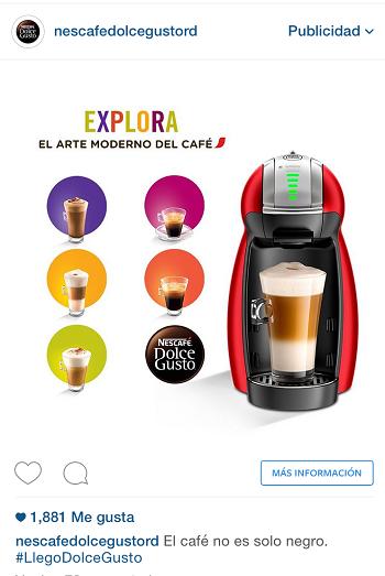 Campana-Publicidad-Digital-Anuncio-Instagram-Nescafe-Dolcegustord-antes