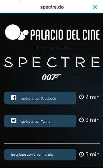Campana-Publicidad-Digital-Anuncio-Twitter-Spectre-Landing