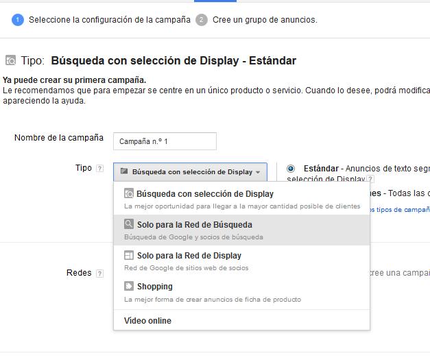 Creando-Campaña-Anuncios-Google-Adwords-SEM-Paso-1