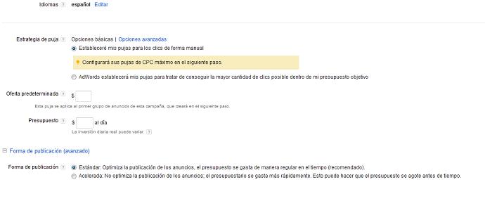 Creando-Campaña-Anuncios-Google-Adwords-SEM-Pujas-Paso-4