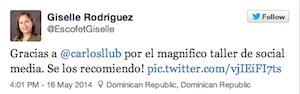 4to TallerSMC-Redes-Sociales-Santo-Domingo-Giselle-Rodriguez