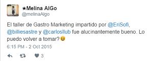 Testimonio-14vo-Taller-Publicidad-Online-Turismo-Santo-Domingo-oct-2015-Melina-Algo