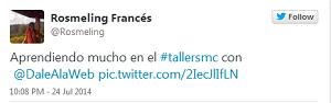 Testimonio-5to-Taller-Redes-Sociales-Santo-Domingo-jul-2014-Rosmeling-Frances