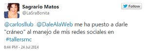 Testimonio-5to-Taller-Redes-Sociales-Santo-Domingo-jul-2014-Sagrario-Matos