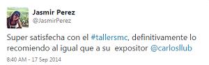Testimonio-6to-Taller-Redes-Sociales-Santo-Domingo-sep-2014-Jasmir-Perez