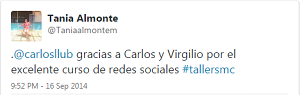 Testimonio-6to-Taller-Redes-Sociales-Santo-Domingo-sep-2014-Tania-Almonte