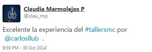 Testimonio-7mo-Taller-Redes-Sociales-Santo-Domingo-oct-2014-Claudia-Marmolejos-02