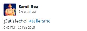 Testimonio-9no-Taller-Redes-Sociales-Santo-Domingo-feb-2015-Samil-Roa