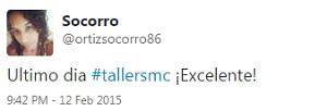 Testimonio-9no-Taller-Redes-Sociales-Santo-Domingo-feb-2015-Socorro-Ortiz