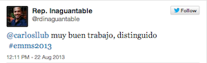 Testimonio-Charla-Analitica-Web-Social-EMMS-Dominicana-ago-2013-RepInaguantable