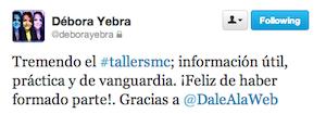 Testimonio-Debora-Yebra2-Taller-Social-Media-Sep-2013