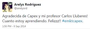 Testimonio-Diplomado-Marketing-Online-CAPEX-Santiago-Caballeros-ago-2015-Arelys-Rodriguez