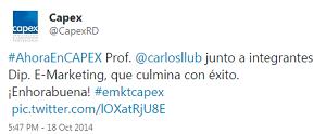 Testimonio-Diplomado-Marketing-Online-CAPEX-Santiago-Caballeros-ago-2015-CAPEXRD