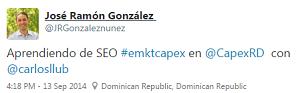 Testimonio-Diplomado-Marketing-Online-CAPEX-Santiago-Caballeros-ago-2015-JR-Gonzalez2