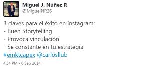 Testimonio-Diplomado-Marketing-Online-CAPEX-Santiago-Caballeros-ago-2015-Miguel-Nunez