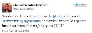 Testimonio-Guillermo-Tabar-Charla-Analitica-Web-Social-EMMS-Dominicana-ago-2013