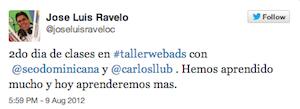 Testimonio-Jose-Luis-Ravelo-Taller-Publicidad-Online-Santo-Domingo-2012