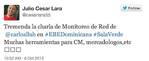 Testimonio-Julio-Cesar-Lara-Charla-Analitica-Web-Social-EBE-Dominicana-oct-13