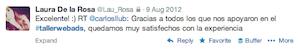 Testimonio-Laura-DeLaRosa-Taller-Publicidad-Online-Santo-Domingo-2012