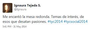 Testimonio-Mesa-Redonda-tycsocial-may-2014-Ignaura