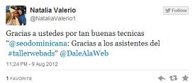 Testimonio-Natalia-Valerio-Taller-Publicidad-Online-Santo-Domingo-2012
